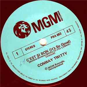 Conway Twitty - C'est Si Bon / What Am I Living For Scarica Album
